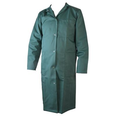 lab coat, Green , Cotton/polyester, size 60