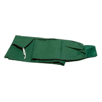 Surgical trousers, green, cotton, size 34