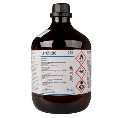 Hemacolor solution 1, Fixing solution, 2.5 l