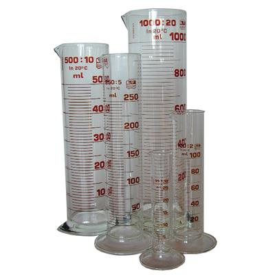 Measurings cylinders, 50 ml