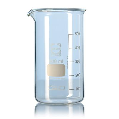Glass beakers, low shape, 150 ml