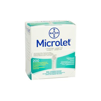 Microlet lancets
