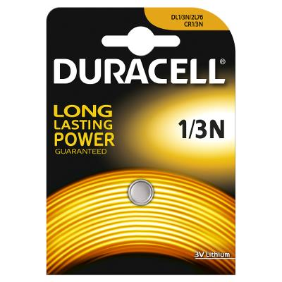 Duracell Battery Butten cell CR1/3N 3V Lithium