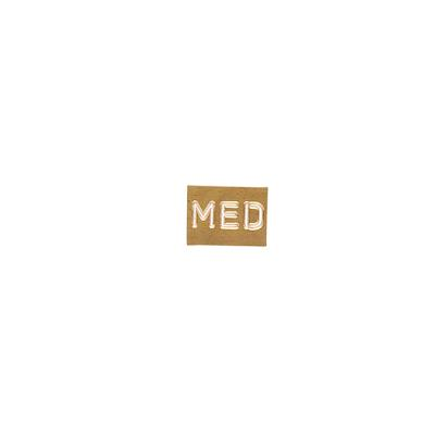 Identification label, Med