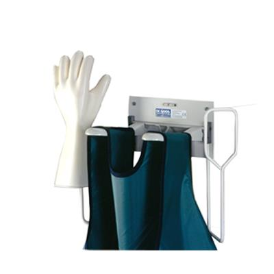 Wall hanger for X-ray aprons and Gloves