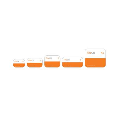 Size 0 image plate Kit, FireCR Dental