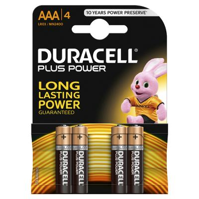Duracell Battery AAA LR3 4pcs