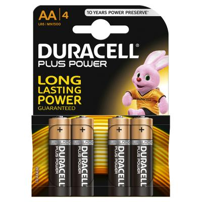 Duracell Battery AA LR6 4pcs