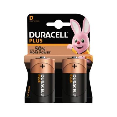 Duracell Battery D LR20 2 pcs