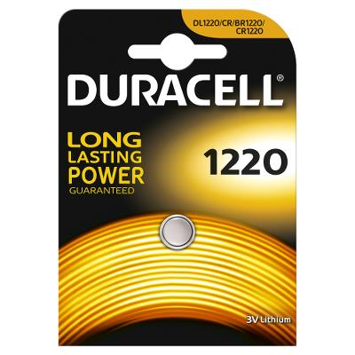 Duracell Battery Butten cell CR1220 3V