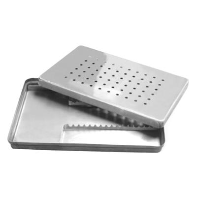 Scaler Tray with Instrument Rack & Cover, 280x180x20mm