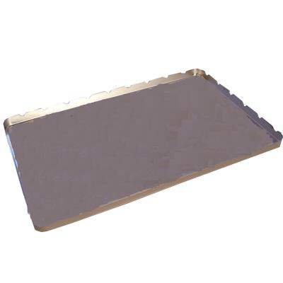 Stainless steel tray, dental, 28x18x1cm
