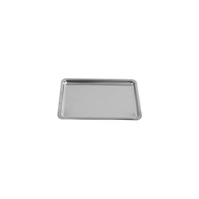 Scalar tray, stainless steel, 280x184x10mm