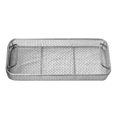 Wire mesh tray, 330x150x60mm, stainless steel