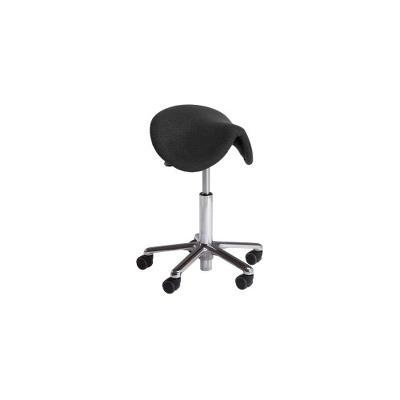 Vela Samba 400 stool, Skai Beige, 60-85cm, foot operated