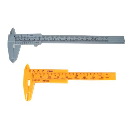 Caliper set, 80mm & 150mm, plastic (mm & Inches)