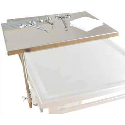 Assisting table, tray size 300x400mm