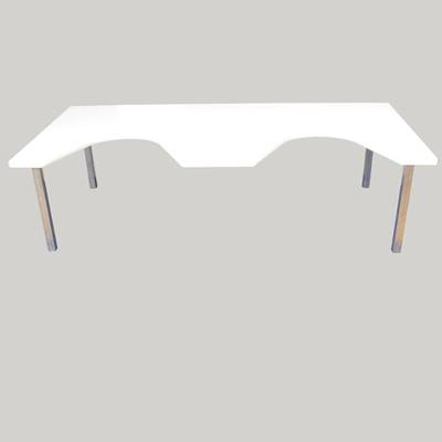 Scan table, steel/nylon 120x60cm