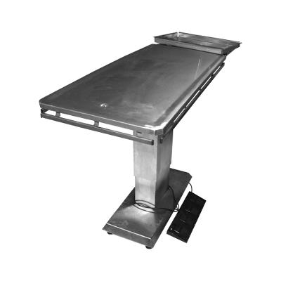 Operation table inox electric tiltable 55x120x75-110cm steel