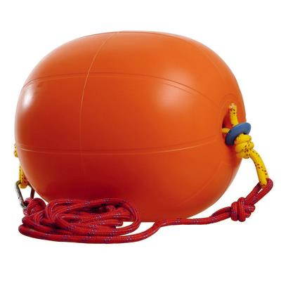 Training ball with rope