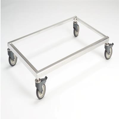 Stainless Steel Mobile Platform