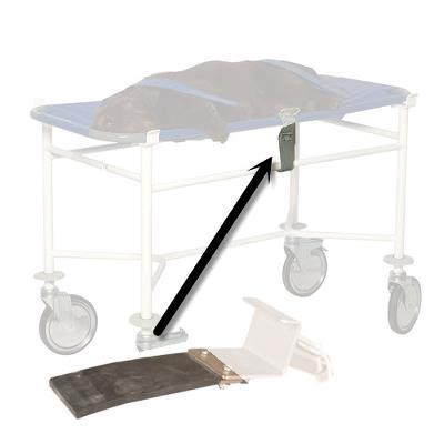 Rubberpart for hook for Stretcher trolley