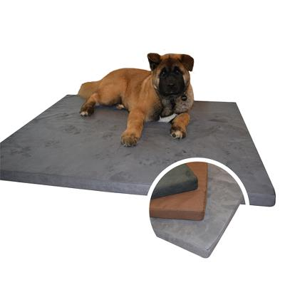 Ergopur Dog Mattress 70x45x5cm Black - Memory foam