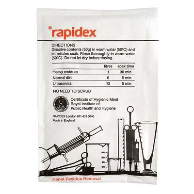 Rapidex, powder cleaner concentrate with no enzymes, 50gr