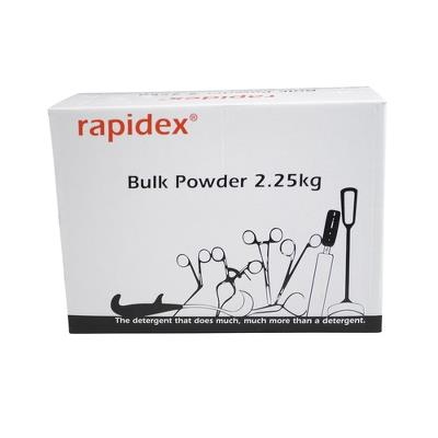 Rapidex, powder cleaner concentrate with no enzymes, 2,25 kg