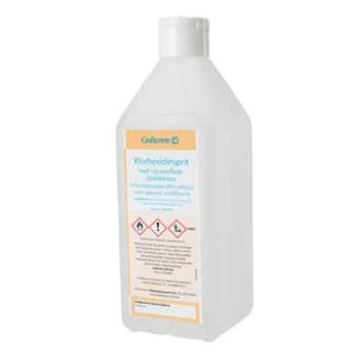 Chlorhexidine alcohol, 600 ml