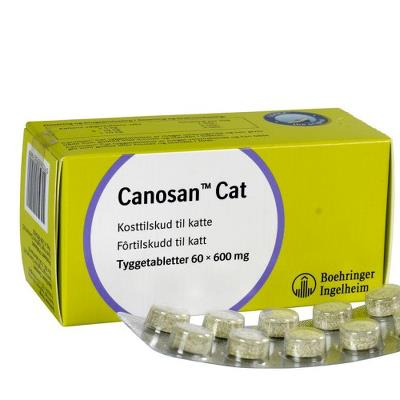 Canosan chewing tablets Cat, 60pcs/pkg