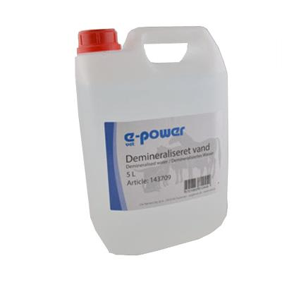 Water, demineralized, 5L