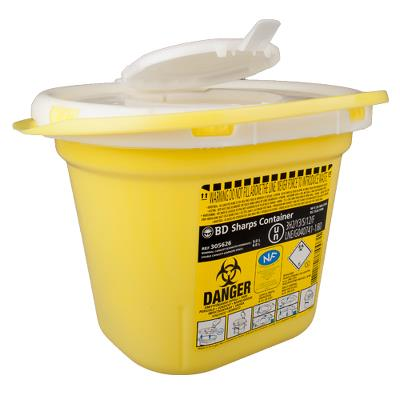 Needle safety box, 5,0L
