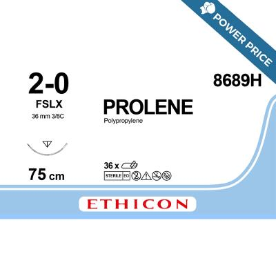 Suture,3-0 FSLX, 75cm, Prolene®, Ethicon
