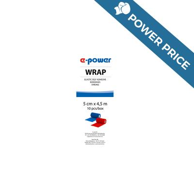 Badaging Tape, Wrap e-power, blue, 5cm, E-Vet