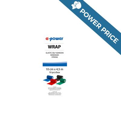 Badaging Tape, Wrap e-power, blue, 10cm, E-Vet