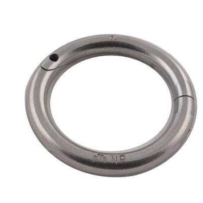 Bull swirvel Ring 57 mm, stainless, Hauptner