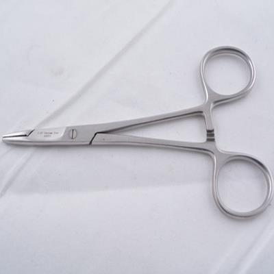 Needle holder with scissor,  Hegar-Olsen, 14cm