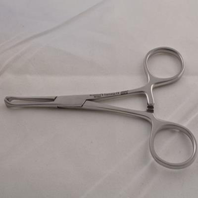Tissueforceps, Allis, straight, 12cm