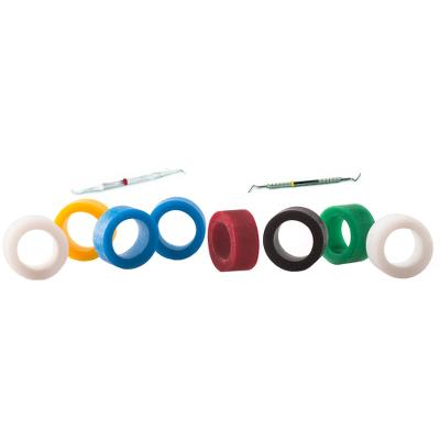 COLOURED SILICONE INSTRUMENT ID RINGS X 120