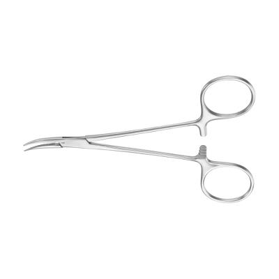 Artery forceps, Micro-Halsted, curved, 125 mm, Aesculap