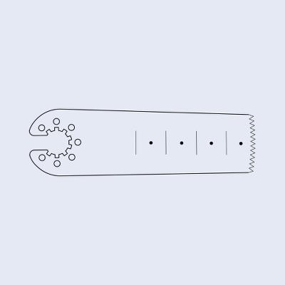 Sagittal saw blades, 50/20/0,7/0,9 mm, Aesculap
