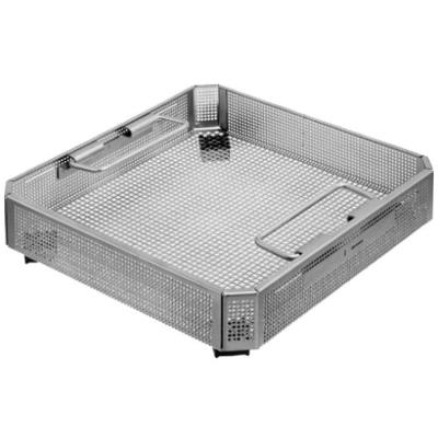Perforated basket, Stainless steel, 254x251x57mm, Aesculap