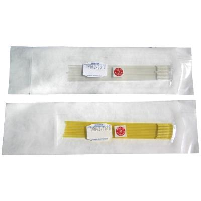 MiniStraw 0,25ml 133mm yellow-transparent Sterile