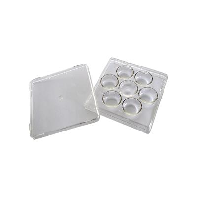 9 Wells Sterilized Plates / Packed By 10